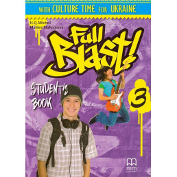 Підручник Full Blast 3 Student's Book with Culture Time for Ukraine