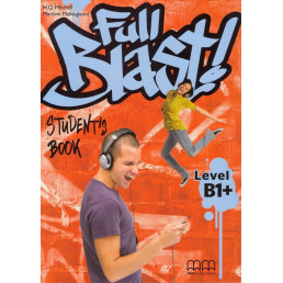 Підручник Full Blast В1+ Student's Book with Culture Time for Ukraine