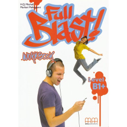Зошит Full Blast B1+ Workbook with CD-Rom