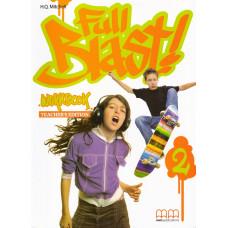 Зошит вчителя Full Blast 2 Workbook Teacher's edition