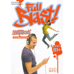 Зошит вчителя Full Blast В1+ Workbook Teacher's edition
