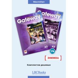 Комплект: Підручник і зошит Gateway A2 Pack