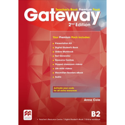 Книга вчителя Gateway 2nd Edition В2 Teacher's Book