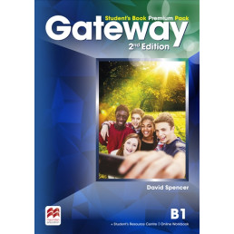 Підручник Gateway 2nd Edition B1 Student's Book Premium Pack