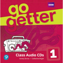 Аудіо диск GoGetter 1 Class Audio CD