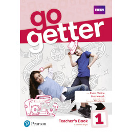 Книга вчителя GoGetter 1 Teacher's Book with MyEnglishLab