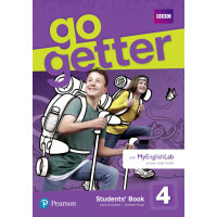 Підручник GoGetter 4 Students' Book with MyEnglishLab