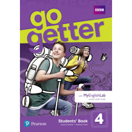 Підручник GoGetter 4 Students' Book with MyEnglishLab
