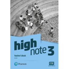 Книга вчителя High Note 3 Teacher's Book with PEP Pack