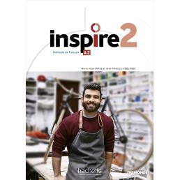 Підручник Inspire Niveau A2 Livre de l'élève