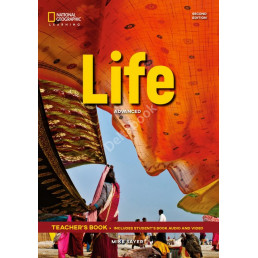 Книга вчителя Life 2nd Edition Advanced Teacher's Book with Class Audio CD and DVD-Rom