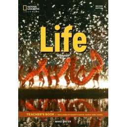 Книга вчителя Life 2nd Edition Beginner Teacher's Book with Class Audio CD and DVD-Rom