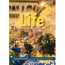 Книга вчителя Life 2nd Edition Elementary Teacher's Book with Class Audio CD and DVD-Rom