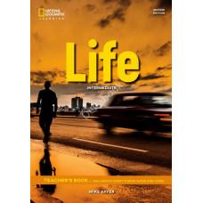 Книга вчителя Life 2nd Edition Intermediate Teacher's Book with Class Audio CD and DVD-Rom