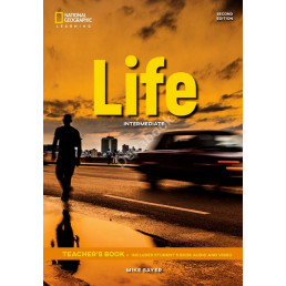 Книга вчителя Life 2nd Edition Intermediate Teacher's Book with Class Audio CD and DVD-Rom