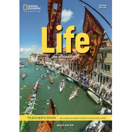 Книга вчителя Life 2nd Edition Pre-Intermediate Teacher's Book with Class Audio CD and DVD-Rom