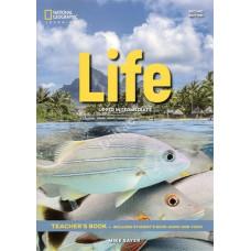 Книга вчителя Life 2nd Edition Upper-Intermediate Teacher's Book with Class Audio CD and DVD-Rom