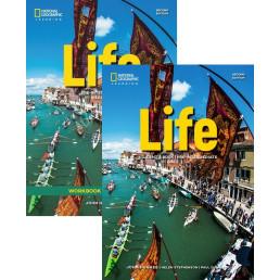 Комплект: Підручник і зошит Life 2nd Edition Pre-Intermediate Pack