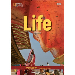 Зошит Life 2nd Edition Advanced Workbook with Key and Audio CD