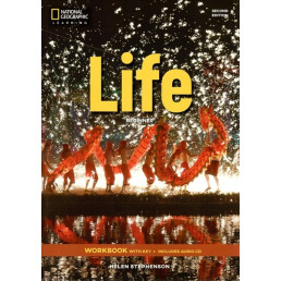 Зошит Life 2nd Edition Beginner Workbook with Key and Audio CD