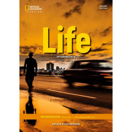 Зошит Life 2nd Edition Intermediate Workbook with Key and Audio CD