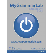 Книга MyGrammarLab Intermediate B1/B2 with Key