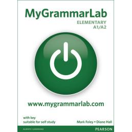 Книга MyGrammarLab Elementary A1/A2 with Key