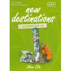 Аудіо диск New Destinations А1.2 Class Audio CD