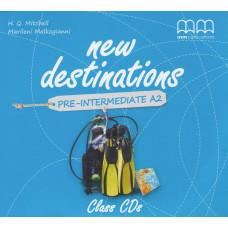 Аудіо диск New Destinations А2 Class Audio CD