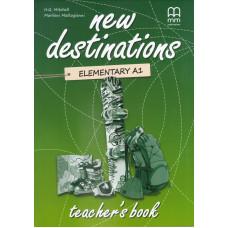 Книга вчителя New Destinations A1.2 Teacher's Book
