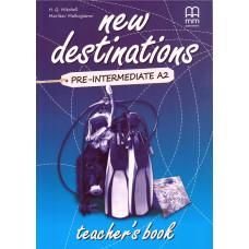 Книга вчителя New Destinations A2 Teacher's Book