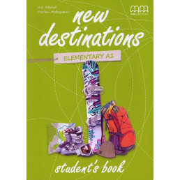 Підручник New Destinations A1.2 Student's Book