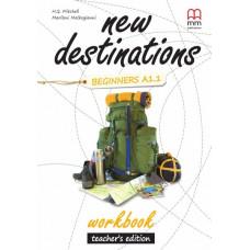 Зошит вчителя New Destinations A1.1 Workbook Teacher's Edition