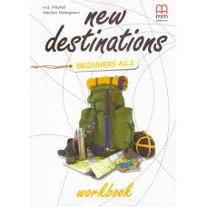 Зошит New Destinations A1.1 Workbook
