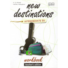 Зошит вчителя New Destinations B1 Workbook Teacher's Edition