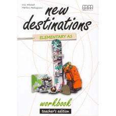Зошит вчителя New Destinations A1.2 Workbook Teacher's Edition