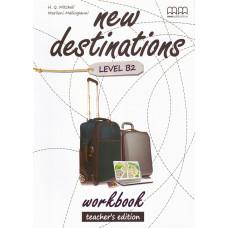 Зошит вчителя New Destinations B2 Workbook Teacher's Edition