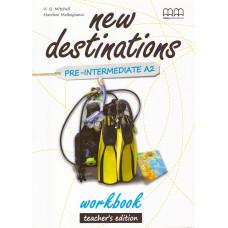 Зошит вчителя New Destinations A2 Workbook Teacher's Edition