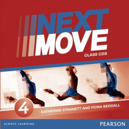 Аудіо диск Next Move 4 Class Audio CD