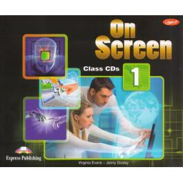 Аудіо диск On Screen 1 Class Audio CD