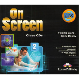 Аудіо диск On Screen 2 Class Audio CD