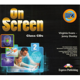 Аудіо диск On Screen 2 Class Audio CD
