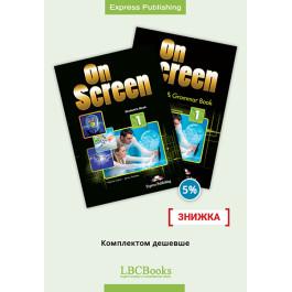 Комплект: Підручник і зошит On Screen 1 Pack
