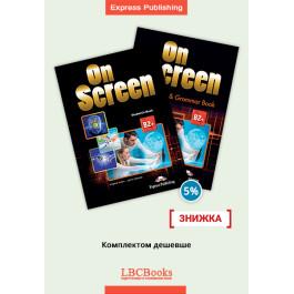 Комплект: Підручник і зошит On Screen B2+ Pack