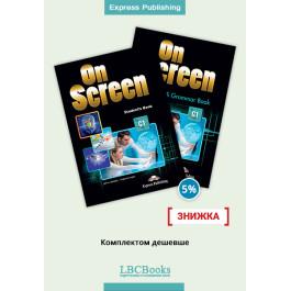 Комплект: Підручник і зошит On Screen C1 Pack with Digibooks App