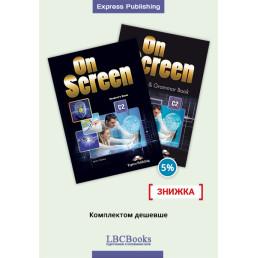 Комплект: Підручник і зошит On Screen C2 Pack with Digibooks App