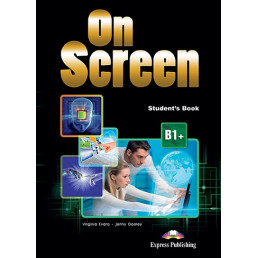 Підручник On Screen B1+ Student's Book