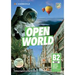 Підручник і зошит Open World First Self-Study Pack