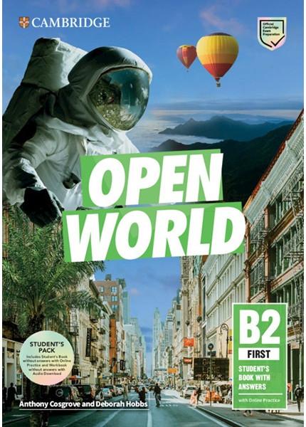 Open World First Self-Study Pack
