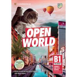 Підручник і зошит Open World Preliminary Self-Study Pack